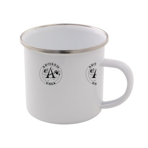 NASA Apollo Enamel Mug ? White