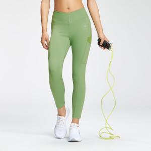 Legging ⅞ Repreve® MP Tempo pour femmes–Vert pomme
