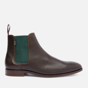 PS Paul Smith Men's Gerald Leather Chelsea Boots - Chocolate