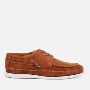 PS Paul Smith Men's Hobbs Suede Boat Shoes - Tan
