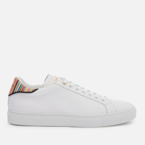 Paul Smith Men's Beck Leather Cupsole Trainers - Multi Spoiler