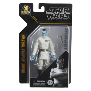 Hasbro Star Wars The Black Series Archive Grand Admiral Thrawn Action Figure