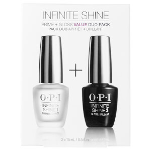 OPI Base Coat Prime and Gloss Top Coat Infinite Shine Duo Set