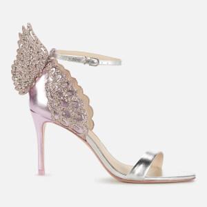 Sophia Webster Women's Evangeline Mid Heeled Sandals - Rosa/Silver