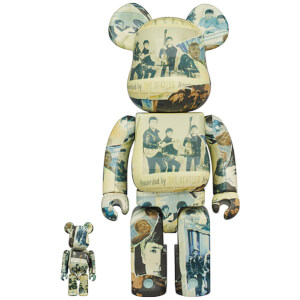 Medicom The Beatles Anthology 1 100% & 400% Be@rbrick 2 Pack