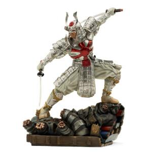 Iron Studios Marvel Comics BDS Art Scale Statue 1/10 Silver Samurai 25 cm