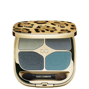 Dolce&Gabbana Felineyes Intense Eyeshadow Quad - Mediterranean Blue 8 4.8g