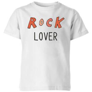 Rock Lover Kids' T-Shirt - White