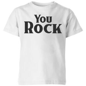 You Rock Kids' T-Shirt - White