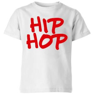 Hip Hop Kids' T-Shirt - White