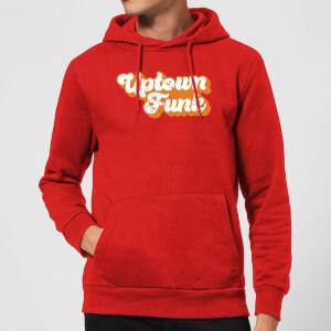 Uptown Funk Hoodie - Red