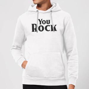 You Rock Hoodie - White