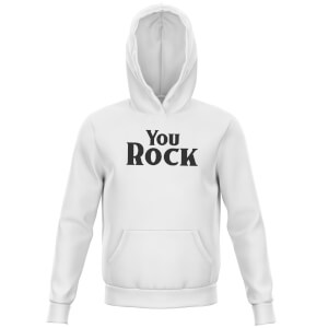 You Rock Kids' Hoodie - White