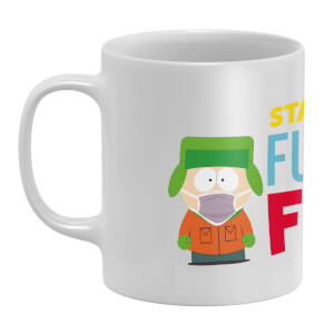 South Park Stay Back Six Feet White Mug