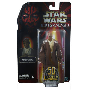 Figurine Articulée Mace Windu - Hasbro Star Wars The Black Series