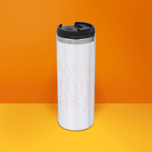 I Wish This Was Gin Stainless Steel Thermo Travel Mug