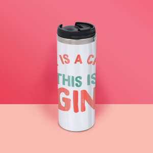 There Is A Chance This Is Gin Stainless Steel Thermo Travel Mug