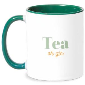 Tea Or Gin Mug - White/Green