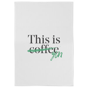 This Is Coffee Cotton Tea Towel