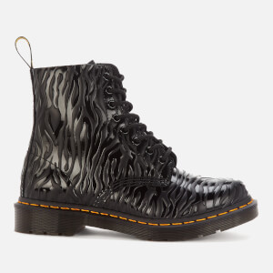 Dr. Martens Women's 1460 Embossed Leather Pascal Boots - Black Zebra