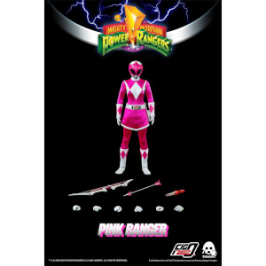 ThreeZero Power Rangers Pink Ranger 1:6 Scale Figure