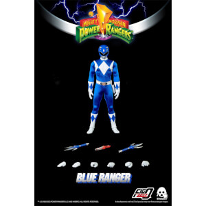 ThreeZero Power Rangers Blue Ranger 1:6 Scale Figure