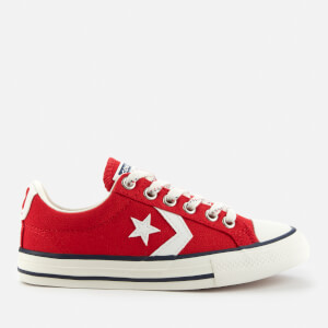 Converse Kids' Star Player Ox Trainers - Enamel Red