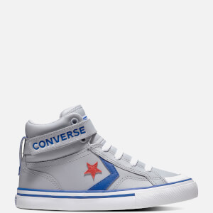 Converse Kids' Pro Blaze Hi - Top Trainers - Wolf Grey