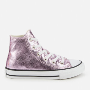 Converse Kids' Chuck Taylor All Star Hi - Top Trainers - Pink Foam