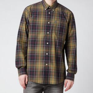 Barbour Men's Tartan 7 Tailored Shirt - Green