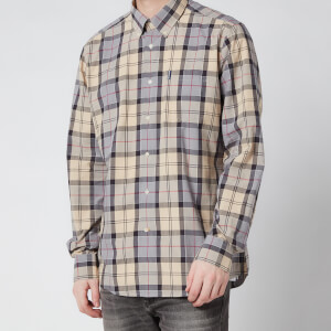 Barbour Men's Tartan 7 Tailored Shirt - Stone
