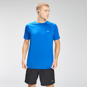 MP Men's Repeat Graphic Training Short Sleeve T-Shirt - True Blue