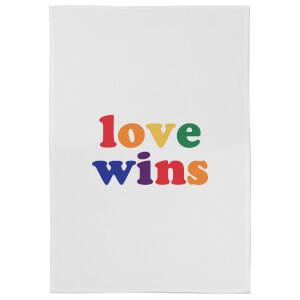 Love Wins Cotton Tea Towel