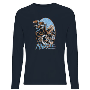 Magic: the Gathering Retro Unisex Long Sleeve T-Shirt - Navy