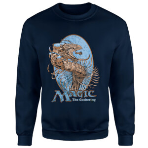 Magic The Gathering Sweatshirt - Bleu Marine