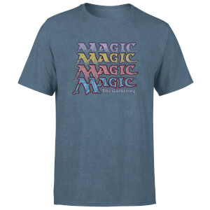 Magic: the Gathering Unisex T-Shirt - Navy Acid Wash