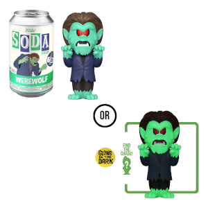 ScoobyDoo Werewolf Vinyl Soda in a Collector Can