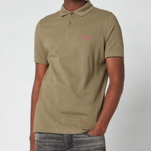 Barbour Beacon Men's Polo Shirt - Light Moss