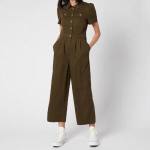 Whistles Women's Emma Pocket Detail Jumpsuit - Khaki