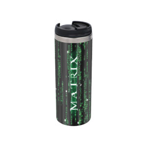 The Matrix Stainless Steel Thermo Travel Mug - Metallic Finish