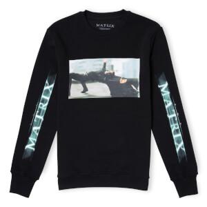 The Matrix Logo Code Sweatshirt - Black