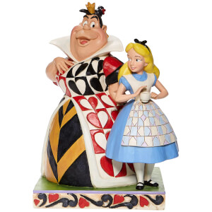 Disney Alice and the Queen Of Hearts Figure