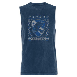 Harry Potter Ravenclaw - Navy Acid Wash Men's Vest
