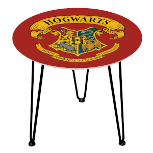Decorsome Harry Potter Crest Wooden Side Table