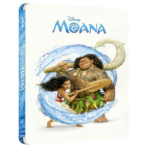 Disney's Moana - Zavvi Exclusive 4K Ultra HD Steelbook (Includes Blu-ray)