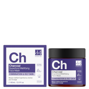 Dr Botanicals Charcoal Superfood Mattifying Face Mask 60ml