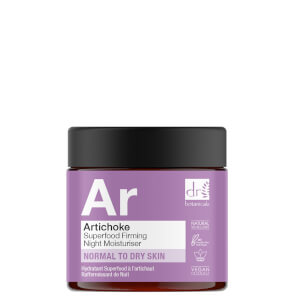 Dr Botanicals Artichoke Superfood Firming Night Moisturiser 60ml