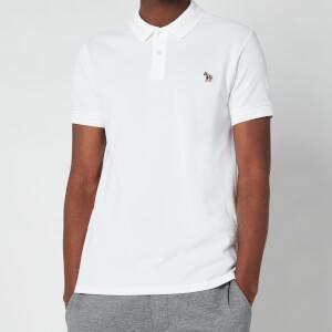 PS Paul Smith Men's Slim Fit Zebra Logo Polo Shirt - White