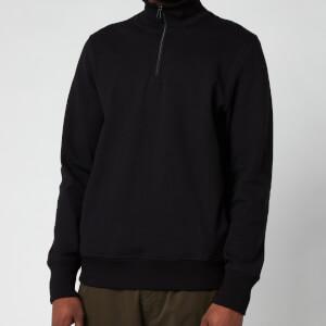 PS Paul Smith Men's Half-Zip Sweatshirt - Black