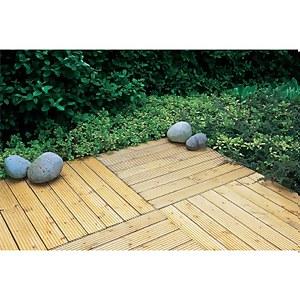 Forest Patio Deck Tile - 90 x 90cm